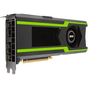 MSI NVIDIA GTX 1080 TI 11GB GDDR5X - GeForce GTX 1080 TI AERO 11G OC, 1506MHz/1620MHz, 11GB GDDR5X/352bit 11016MHz, CUDA: 3584, HDMI-DP1