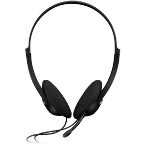 CANYON PC headset with microphone, volume control and adjustable headband, cable 1.8M, Black1