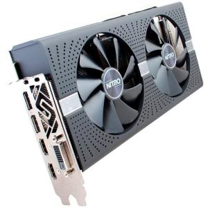 Sapphire Video Card AMD Radeon NITRO+ RX 580 8G GDDR5 DUAL HDMI / DVI-D / DUAL DP W/BP (UEFI) SPECIAL EDITION (Samsung memory)2