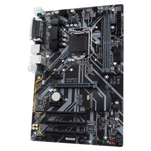 GIGABYTE Main Board Desktop Intel H310 (S1151v2, 2xDDR4, Realtek ALC887, 1x10/100/1000 Mbit, 1xPCIEX16, 2xPCIEX1, 3xPCI, 1xM.2, 4xSATA 6Gb/s, 1xPS/2, 1xparallel port, 1xserial port, 1xD-Sub, 1xHDMI, 22