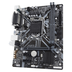 MB GIGABYTE   Intel H310 (S1151v2, 2xDDR4, Realtek ALC887, 1x10/100/1000 Mbit, 1xPCIEX16, 2xPCIEX1, 4xSATA 6Gb/s, 1xPS/2, 1xparallel port, 1xserial port, 1xD-Sub, 2xUSB3.1Gen1, 4xUSB2.0, 1xRJ-45) mATX2