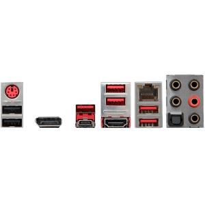 MSI Main Board Desktop H370 (S1151, DDR4, USB3.1, USB2.0, SATA III,M.2, DisplayPort, HDMI - Requires Processor Graphics, 8 -Channel(7.1) HD Audio with Audio Boost 4, LAN) ATX Retail1
