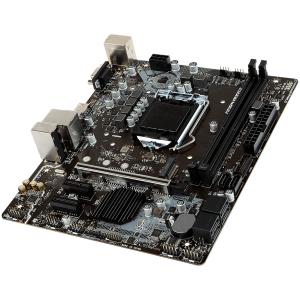 MSI Main Board Desktop B360 (S1151, DDR4, USB3.1, USB2.0, SATA III,M.2, HDMI, VGA - Requires Processor Graphics, 8-Channel(7.1) HD Audio with Audio Boost, Realtek 8111H Gigabit LAN) mATX Retail3