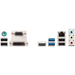 MSI Main Board Desktop H310 (S1151, DDR4, USB3.1, USB2.0, SATA III, HDMI, DVI-D, VGA - Requires Processor Graphics, 8-Channel(7.1) HD Audio with Audio Boost, Realtek 8111H Gigabit LAN) mATX Retail1
