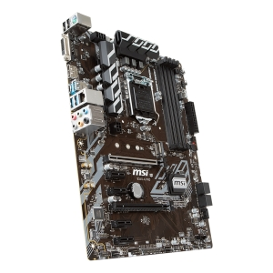 MSI Main Board Desktop B360 (S1151, DDR4, USB3.1, USB2.0, SATA III, M.2, DisplayPort, DVI-D - Requires Processor Graphics, 8-Channel(7.1) HD Audio with Audio Boost, Intel I219-V Gigabit LAN) ATX Retai2