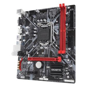 GIGABYTE Main Board Desktop Intel B360 (S1151v2, 2xDDR4, Realtek ALC887, 1x10/100/1000 Mbit, 1xPCIEX16, 1xPCIEX1, 1xM.2, 4xSATA 6Gb/s, 2xPS/2, 1xD-Sub, 1xHDMI, 4xUSB3.1Gen1, 2xUSB2.0, 1xRJ-45) mATX, R2