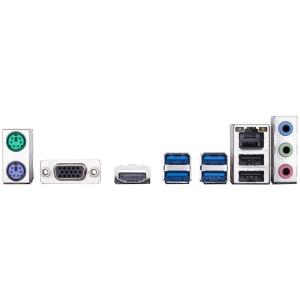 GIGABYTE Main Board Desktop Intel B360 (S1151v2, 2xDDR4, Realtek ALC887, 1x10/100/1000 Mbit, 1xPCIEX16, 1xPCIEX1, 1xM.2, 4xSATA 6Gb/s, 2xPS/2, 1xD-Sub, 1xHDMI, 4xUSB3.1Gen1, 2xUSB2.0, 1xRJ-45) mATX, R1