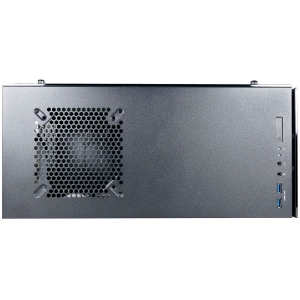Inaza Drone Black, SECC Steel ATX Mid Tower, no source (ATX type, mounted down), black painted interior1