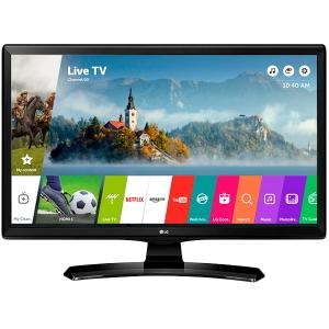 "TV/Monitor LED LG 28MT49S-PZ LED (27.5"", 1366x768, 5M:1, 8ms, HDMIx2, SCART, CI+, LAN, WiFI built-in, Speakers: 2x5W ) Black, tuner DVB-T2/C/S2, VESA 75x75, LG TV Puls App0"