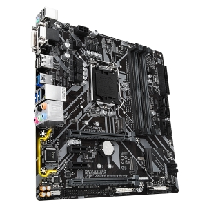 GIGABYTE Main Board Desktop Intel  H370 (S1151v2, 4xDDR4, Realtek ALC887, 1x10/100/1000 Mbit, 1xPCIEX16, 1xPCIEX4, 2xPCIEX1, 2xM.2, 6xSATA 6Gb/s, 1xPS/2, 1xD-Sub, 1xDVI-D, 1xHDMI, 1xDP, 1xUSB Type-C, 3