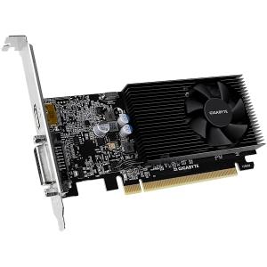 GIGABYTE Video Card GeForce GT 1030 DDR4 2GB/64bit, 1151MHz/2100MHz, PCI-E 3.0 x16, HDMI, DVI-D, Cooler, Low-profile, Retail3