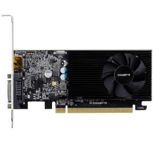 GIGABYTE Video Card GeForce GT 1030 DDR4 2GB/64bit, 1151MHz/2100MHz, PCI-E 3.0 x16, HDMI, DVI-D, Cooler, Low-profile, Retail2