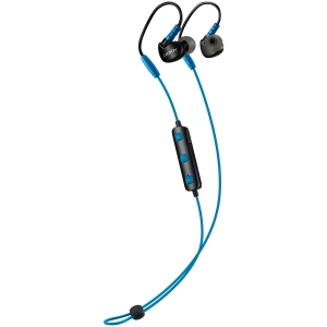 Canyon Bluetooth sport earphones with microphone, 0.3m cable, blue2