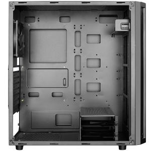 Deepcool D-Shield V2 Black Case, ABS+SPCC Steel ATX Mid Tower Case1