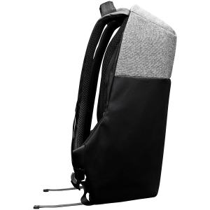 """Backpack for 15.6"""" laptop, black and dark gray (Material: 900D Glued Polyester and 600D Polyester) [3]"""