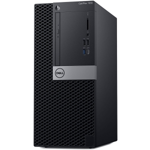Dell Optiplex 7060 MT, Intel Core i7-8700(12MB Cache, 4.60GHz), 16GB(2x8GB) DDR4 2666MHz, 256GB(M.2) SSD, DVD+/-RW, AMD Radeon RX 550 4GB, Dell USB Optical Mouse, KB216 Keybd, Win 10 Pro(64bit), 3Yr N0