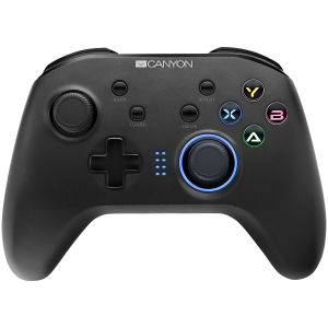 2.4G Wireless Controller with  built-in 600mah battery, 1M Type-C charging cable ,6 axis motion sensor support nintendo switch ,android,PC X-input/D-input,ps3,normal size dongle,black0