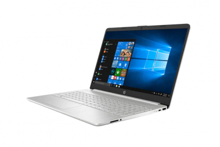 "Laptop HP 15-dy1091wm, Intel Core i3-1005G1 pana la 3.4GHz, 15.6"" HD, 8GB, SSD 256GB, Intel UHD Graphics, Windows 10 Home S, argintiu1"