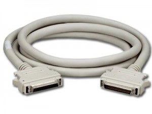MICROACCESSORIES SCSI External Cable (HD D-Sub 68-pin (Male) - VHDCI 68-pin (Male), 3.05m) for Hitachi LVD [1]