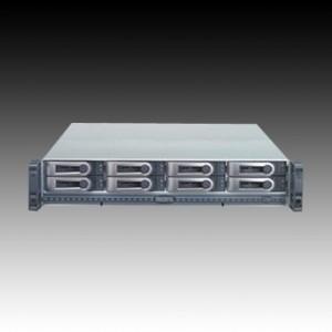 NAS PROMISE VTrak M210i (supported 8 HDD, Power Supply - hot-plug / redundant, 2U Rack-mount, Serial ATA-150/Serial ATA II-300, RAID Level 0, 1, 10, 5, 50, 6,  1E) [1]