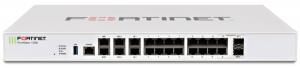 Fortinet firewall Fortigate 100E - Hardware plus 1 Year Hardware plus 24x7 FortiCare and FortiGuard Unified (UTM) Protection0