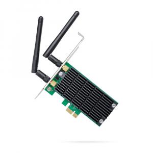"ADAPTOR RETEA TP-LINK wireless, PCI-Express la 2 antena externa, 1200Mbps, Dual Band AC1200, 2.4GHz & 5GHz, ""Archer T4E""0"