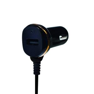 """ALIMENTATOR AUTO LOGILINK, 2 x USB 2.0, pt. bricheta auto 1 x USB 2.0, cablu micro-USB 1 x USB 2.0, 0.4m cablu, maxim 2.1A, black, """"PA0147""""0"""
