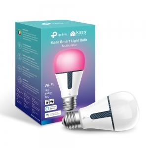 BEC LED wireless TP-LINK, 800lm, 10W, E27, se conecteaza la router Wi-Fi, intensitate reglabila, control prin smartph.cu apl.Kasa, ajustare automata a luminii in fct. de momentul zilei, lumineaza in d2
