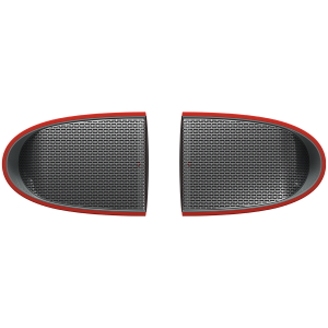 Bluetooth 4.2 Speakers TWS, Chipset ATS2823, 1000mAH battery, with TypeC jack ,  2 in 1 Type-C  to USB Cable 1.5M, Dimension 69*96*65mm, Red [1]