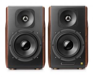 "BOXE EDIFIER 2.0, RMS: 256W (2 x 8W, 1 x 120W, 1 x 120W), bluetooth telecomanda wireless, volum, bass, treble, optical, coaxial, brown, USB, ""S3000PRO""(include timbru verde 4 leu)1"