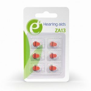 "Button cell ZA13, 6-pack ""EG-BA-ZA13-01""1"