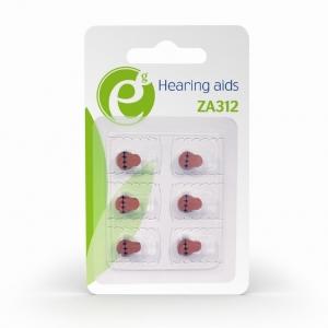 """Button cell ZA312, 6-pack """"EG-BA-ZA312-01""""1"""