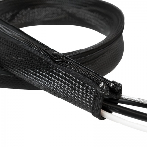 "Cable FlexWrap with Zipper, 1,0m,50mm, black ""KAB0048""1"