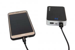 """CABLU alimentare si date VERBATIM, pt. smartphone, USB 2.0 (T) la Micro-USB 2.0 (T),  30cm, premium, MFi certified, cablu metalic, negru, """"48866""""2"""