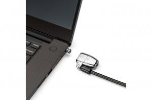 """CABLU securitate KENSINGTON pt. notebook 3-in-1 slot standard / Nano / Wedge, cheie standard, conectare one-click,1.8m, cablu otel carbon, permite pivotare si rotire cablu, """"ClickSafe 2.0"""" """"K68102EU""""1"""