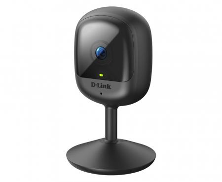 "CAMERA IP D-Link, cube, pt. interior, dist. IR 5 m, tip lentila fixa 2.4 mm, wide angle 110 grade, 2 Mpx, wi-fi, microfon da, PoE nu, carcasa plastic, slot SD card nu, ""DCS-6100LH"" (include timbru ver1"
