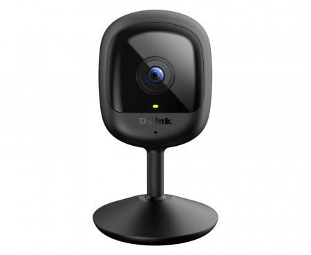 "CAMERA IP D-Link, cube, pt. interior, dist. IR 5 m, tip lentila fixa 2.4 mm, wide angle 110 grade, 2 Mpx, wi-fi, microfon da, PoE nu, carcasa plastic, slot SD card nu, ""DCS-6100LH"" (include timbru ver0"