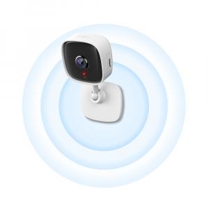 "Camera IP. wireless 1080p HD, zi/noapte, 2-way audio,alarma vizuala si sonora, senzor miscare, TP-LINK ""Tapo C100"" (include timbru verde 1 leu)1"