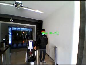 Camera supraveghere cu termoviziune pentru masurarea temperaturii corpului DS-2TD1217B-3/PA0