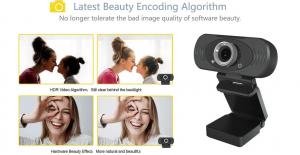 Camera Web Xiaomi IMILAB FHD, rezolutie 2MP,  Rezolutie video FullHD 1920p, microfon incorporat, negru1