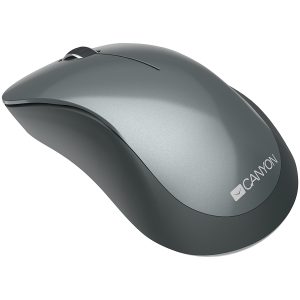 Canyon  2.4 GHz  Wireless mouse ,with 3 buttons, DPI 1200, Battery:AAA*2pcs,Black,67*109*38mm,0.063kg2