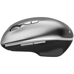 Canyon  2.4 GHz  Wireless mouse ,with 7 buttons, DPI 800/1200/1600, Battery:AAA*2pcs  ,Dark gray72*117*41mm 0.075kg1