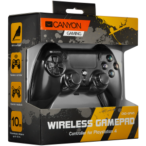 CANYON Wireless Gamepad With Touchpad For PS43