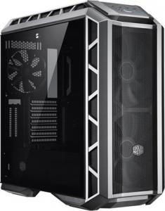 "CARCASA COOLER MASTER Middle-Tower E-ATX, MasterCase. H500P MESH, tempered glass, 2* 200mm RGB fan (incluse), I/O panel, gun metal ""MCM-H500P-MGNN-S10""1"