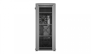 """CARCASA DeepCool Middle-Tower ATX, 1* 120mm fan (inclus), tempered glass, panouri laterale magnetice, VGA card holder, fan HUB, front audio & 2x USB 3.0 & 1x USB 3.1 Type-C, black """"CL500""""2"""