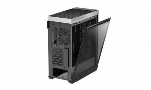 """CARCASA DeepCool Middle-Tower ATX, 1* 120mm fan (inclus), tempered glass, panouri laterale magnetice, VGA card holder, fan HUB, front audio & 2x USB 3.0 & 1x USB 3.1 Type-C, black """"CL500""""5"""