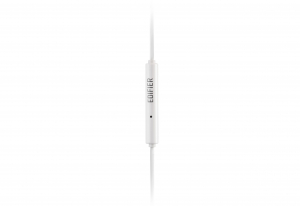 "CASTI EDIFIER cu microfon.   in-ear, microfon pe fir, control volum pe fir, jack 3.5"", cablu 1.2m, white, ""P180-Plus-W"" (include timbru verde 0.5 lei) [8]"