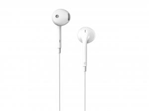 "CASTI EDIFIER cu microfon.   in-ear, microfon pe fir, control volum pe fir, jack 3.5"", cablu 1.2m, white, ""P180-Plus-W"" (include timbru verde 0.5 lei) [1]"