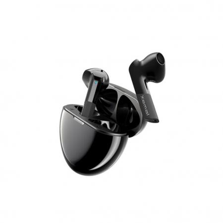 "CASTI Edifier, wireless, intraauriculare - butoni, pt smartphone, microfon pe casca, conectare prin Bluetooth 5.0, negru, ""TWSX6-BK"", (include TV 0.15 lei) [0]"