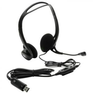Casti Logitech 960 PC Headset, USB [2]